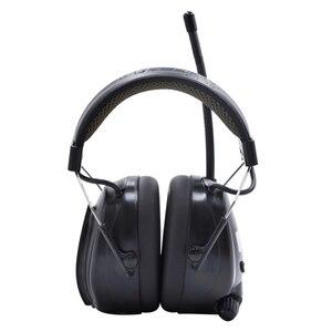 Image 2 - Lithium batterie Bluetooth Elektronische Schießen gehörschutz Gehörschutz FM/AM Radio Ohr Verteidiger Taktische Schutz