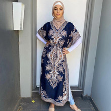 Robe Hijab Maxi pour femmes musulmanes, Ramadan Eid Moubarak Abaya dubaï turquie Islam, mode Hijab, Djellaba Ensemble Femme Musulmane