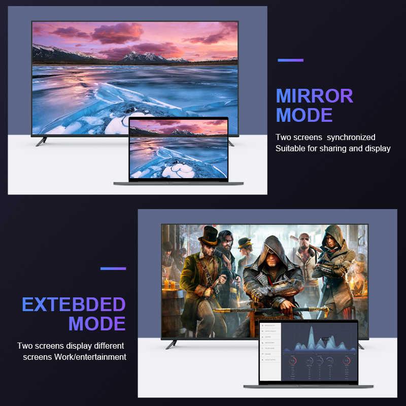 DisplayPort 1.4 Kabel 8K @ 60Hz 4K @ 144 HZ 32.4Gbps HDR 3D untuk Video PC LAPTOP HDTV DisplayPort Kabel Adaptor DisplayPort1.4 Kabel