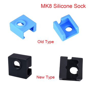 3D Printer Parts MK8 Silicone Sock Protective Cover To Heated Block J-head Hotend Extruder Nozzle Heater MK7/MK9 - discount item  10% OFF Office Electronics