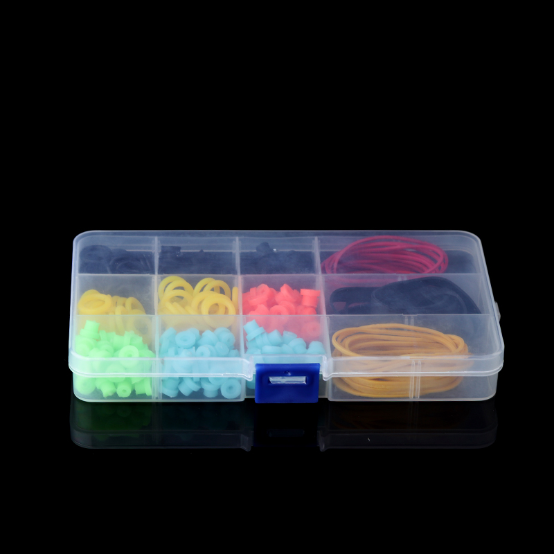 Hot Selling Tattoo Accessories Tattoo Supplies Rubber + O-Rings Imported  Tattoo Pin Cushion Kit Free Shipping