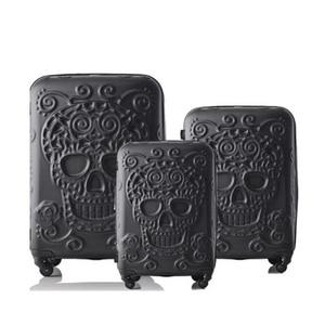 """Image 1 - La valise transparente de chariot de CHENGZHI 20 """"24"""" pouces continuent le bagage roulant avec des roues"""