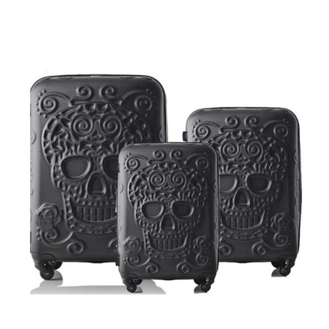 """La valise transparente de chariot de CHENGZHI 20 """"24"""" pouces continuent le bagage roulant avec des roues"""