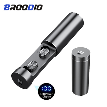 Bluetooth 5.0 TWS Wireless Headphone Stereo HIFI True Wireless Earbuds Sport Gaming Earphones For Xiaomi Samsung With Microphone