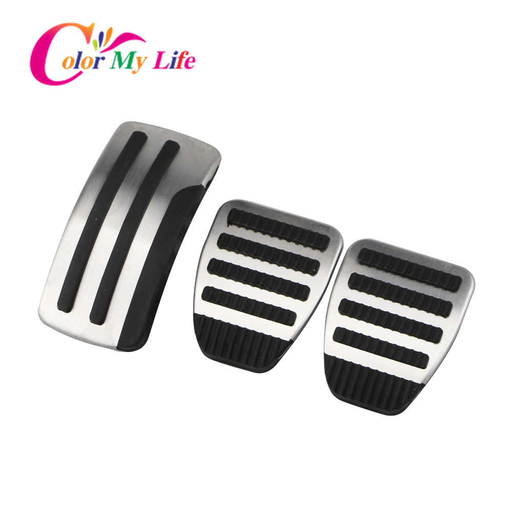 Car Pedals for Nissan X-trail T31 Qashqai J10 Car Stainless Steel AT MT Pedal Cover for Nissan X-trail 2010-2013 Qashqai 2012-15