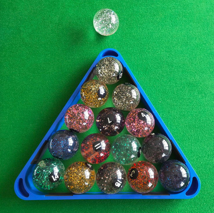 Crystal Billiards Entertainment American Sparkling Crystal Billiards