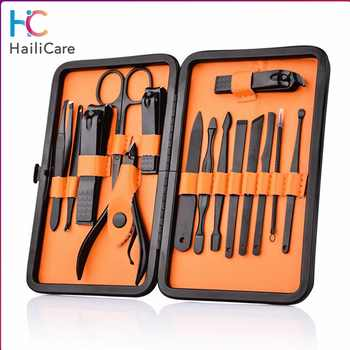 Stainless Steel Nail Clipper Kit With Case Nail Care Set Pedicure Cutters Scissor Tweezer Knife Professional Manicure Set Tools - DISCOUNT ITEM  30% OFF All Category