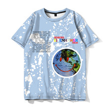 Travis Scott Astroworld T-shirt Design for Eisenhower Seniors High As a Promise to Fans Fashion Personality Tee Tops Camiseta(China)