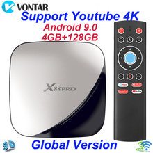 -Dijual X88 Pro Android 9.0 TV Box 4G 64G RK3318 Mendukung 2.4G/5G WIFI 4 K Set Top Box Google Play YouTube Netflix 4G 32G TV Box(China)
