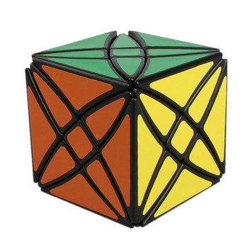 Lanlan Flower Rex Strange Shape Axis Cube 8 Hexahedron Magic Puzzle 58mm Speed Toys For Children Education Toy - discount item  43% OFF Games And Puzzles