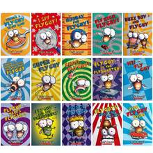 Juego de libros en inglés para niños y adultos, Set de 15 libros infantiles con imagen de la serie The Fly Guy, libro de cuentos de lectura divertido