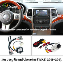 Reverse-Camera-Kit Jeep Grand-Cherokee Rear-View for Compatible with OEM 7inch-Screen