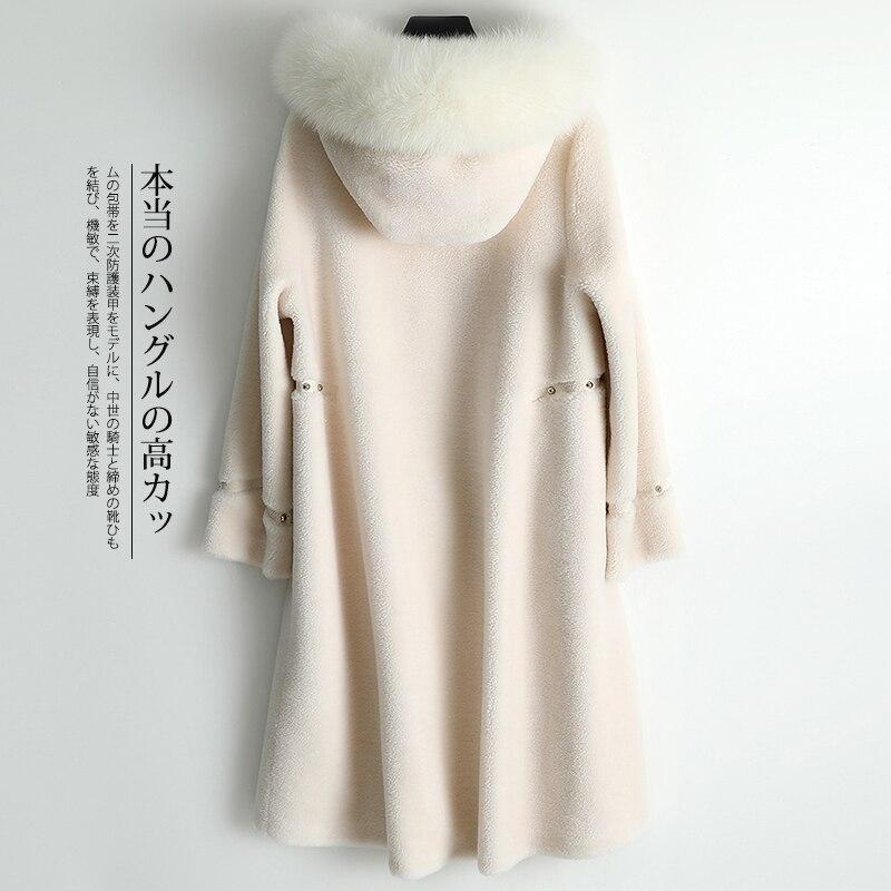 Winter Real Fur Coat Women Clothes 2020 Sheep Shearing Wool Jacket Korean Womens Coats Manteau Femme 968797 YY1510