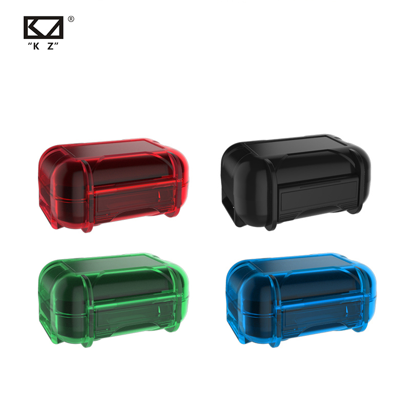 KZ New Headset ABS Resin Storage Box Colorful Portable Hold Storage Box Suitable For Original Headphones Moisture-proof And Dust