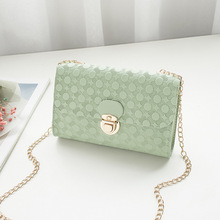 New fashion mobile phone bag purse Charming Embossed chain small Bag travel ladys Shoulder Shopping Crossbody