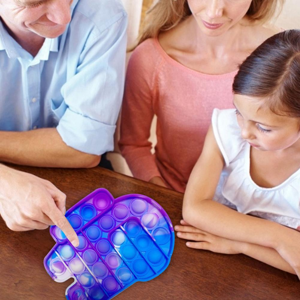Toys Bubble-Sensory-Toy Autism Fidget-Stress Funny Popit Among Us-Push Needs Pops Reliever img2