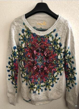DESIGUAL 2019 Spanish Deg spring and autumn thin medium and