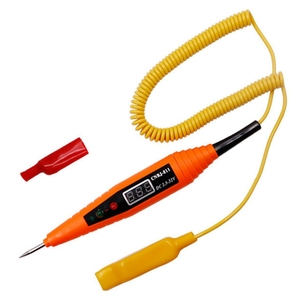 Image 3 - Led Light Voor Auto Testen Diagnostics Tool Digitale Lcd Elektrische Spanning Auto Gereedschap Voor Automotive Test Pen Detector Tester