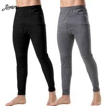 Модное термобелье для мужчин кальсоны свободные Термобелье Нижнее белье для мужчин размера плюс теплые мужские Леггинсы длинные штаны