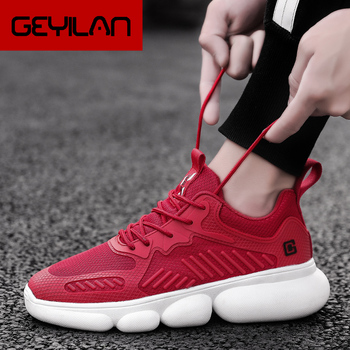 Top Quality New Casual Shoes Summer Men Lace-Up Mesh Shoes Male Sneakers Fashionable Lightweight Adults Movement Shoes