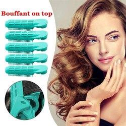 Hair Curler Clip Self Grip Volume Hair Curler Clip Naturally Curly Hair Styling AD