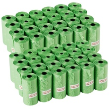 Dog Poop Bags with Leak-Proof Unscented Compostable Pet Waste Disposal Refill for Doggy Puppy 720 Bags, 48 Rolls