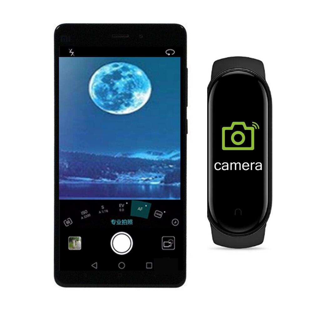 Смарт-часы M5 для мужчин и женщин, умный браслет с Bluetooth, пульсометром, тонометром, смарт-браслет M5, Лидер продаж 4