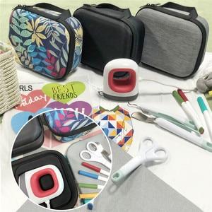 Image 5 - Hard EVA Handbag Storage Bag Travel Carrying Case for Cricut Easy Press Mini Heat Press Machine and Charging Base Accessories