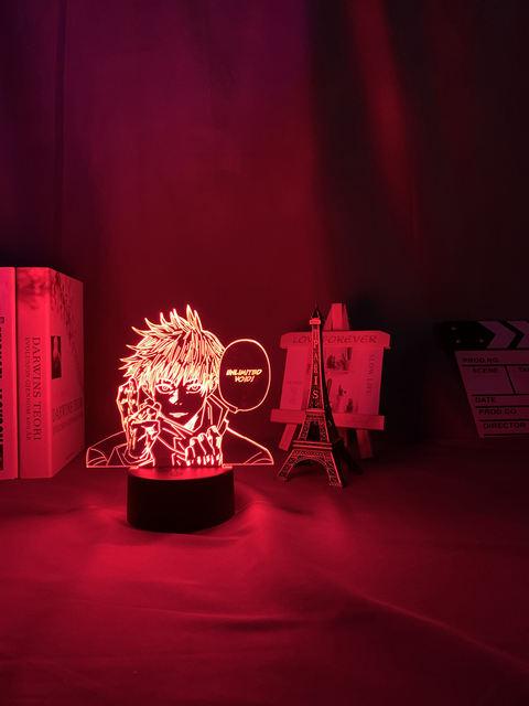16 COLOR WITH REMOTE SATORU GOJO 3D LED LAMP