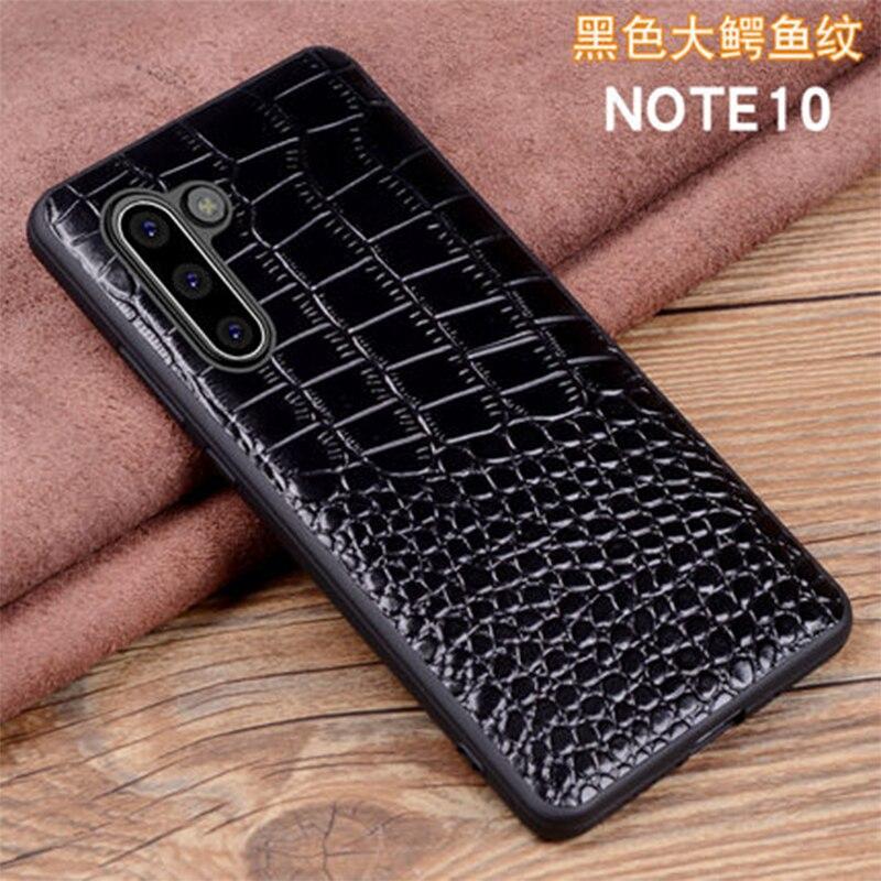 Чехол с крокодиловым принтом для samsung Galaxy Note 10 10 plus, Ультратонкий защитный чехол для экрана для samsung Galaxy Note10 10 +
