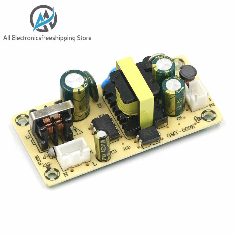AC-DC <font><b>12V</b></font> <font><b>1.5A</b></font> 5V 2A Switching <font><b>Power</b></font> <font><b>Supply</b></font> Module Bare Circuit 100-265V to <font><b>12V</b></font> 5V Board TL431 regulator for Replace/Repair image