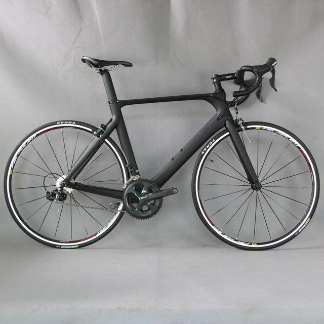 完全なバイク 700C カーボンファイバーロードバイク完全な自転車カーボンサイクリング bicicletta ロードバイク市 4700 20 速度 bicicleta