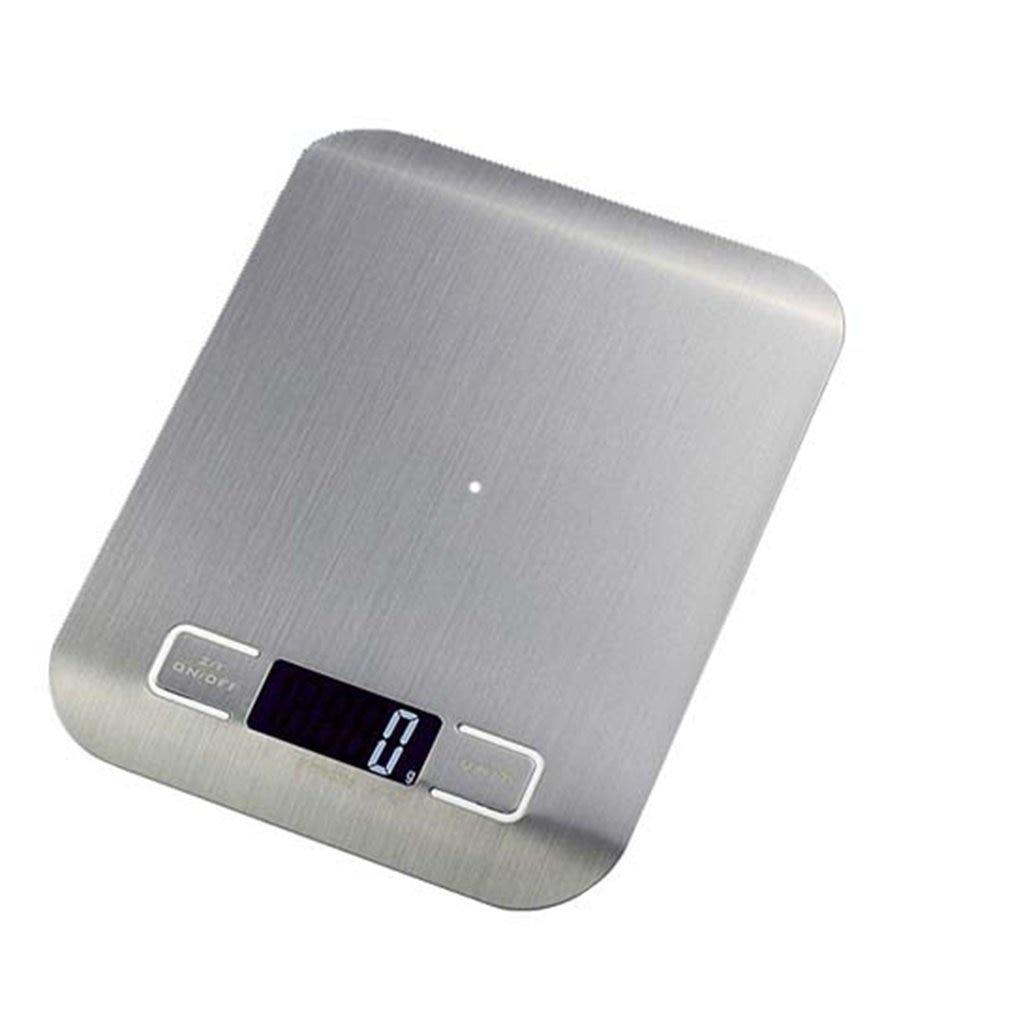 Бытовые кухонные весы, 5 кг/10 кг, 1 г, пищевая диета, Почтовые весы, измерительный инструмент, тонкие цифровые электронные весы с ЖК-дисплеем-0