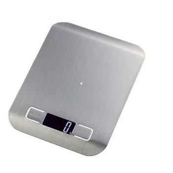Бытовые кухонные весы, 5 кг/10 кг, 1 г, пищевая диета, Почтовые весы, измерительный инструмент, тонкие цифровые электронные весы с ЖК-дисплеем