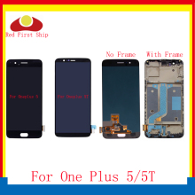 10Pcs/lot For Oneplus 5 5T LCD Display Touch Screen Digitizer Assembly Complete With Frame For One plus A5000 A5010 LCD цена в Москве и Питере