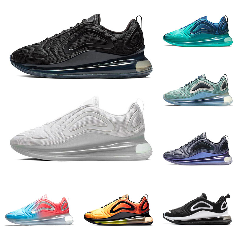 Air-Max720 Sneaker Men Casual Shoes Shock-absorbing Running Shoes Breathable Wear Lovers Running