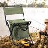 Folding fishing chair, ozark trail fishing chair Attached carrying bag