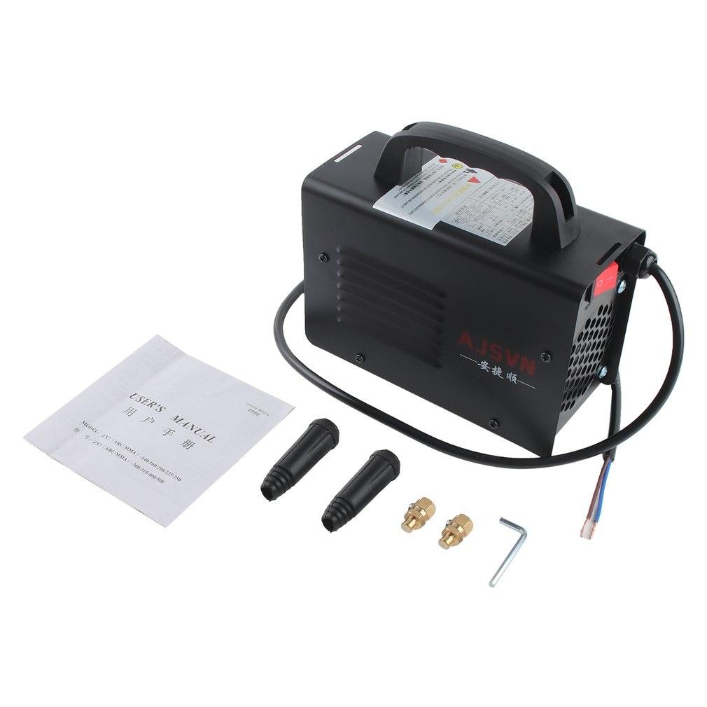 220V Adjustable Handheld IGBT Inverter Electric Arc Welder Welding Machine Digital Display Mini Portable Welding Tool