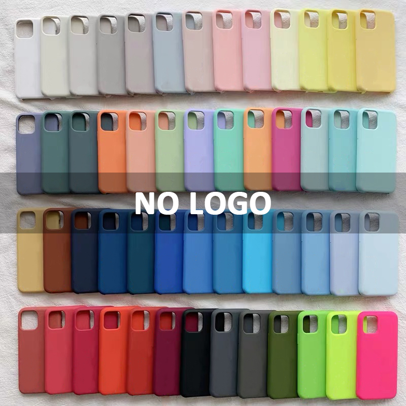 Luxury Case For iPhone SE 2020 Official Original Silicone Case For Apple iPhone 11 Pro 6s 7 8 6 Plus X XR XS Phone Back Cover