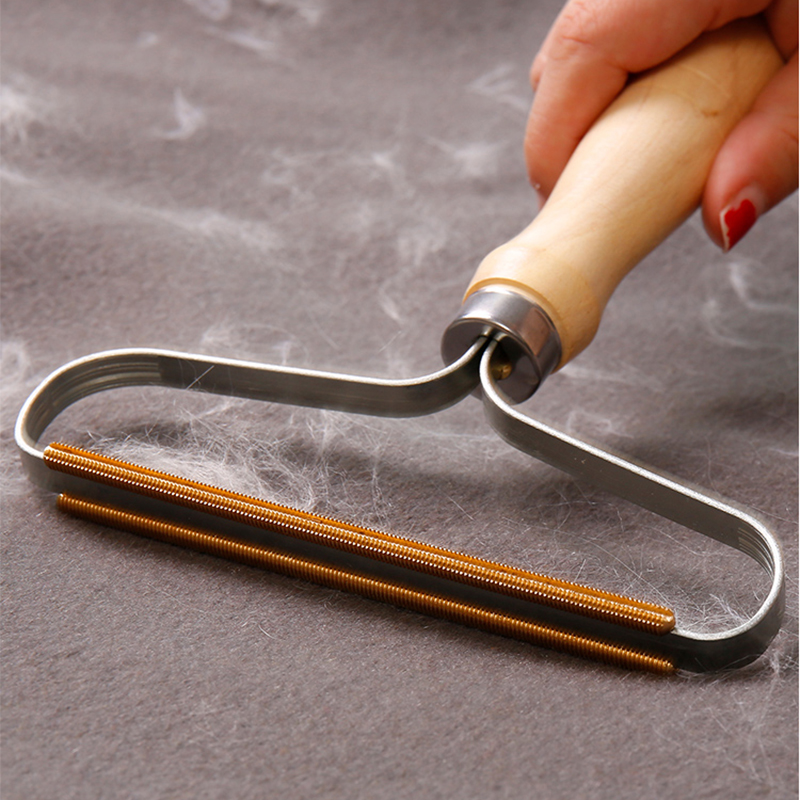 Portable Lint Remover Lint Roller Fuzz Fabric Shaver Brush Tool Power-Free Fluff Removing Roller For Sweater Woven Coat