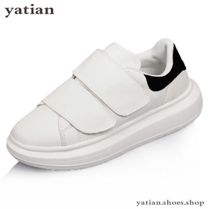 Image 2 - Novo coreano sapatos femininos plataforma plana estudantes respirável branco zapatos de mujer alpercatas senhoras sapato B0 141