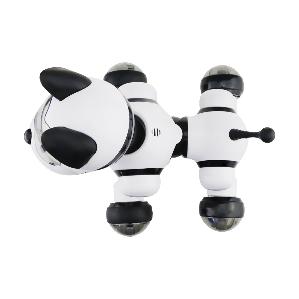 Купить с кэшбэком MG010 Voice Control Smart Robot Dog Free Mode Sing Dance Electronic Dog Robot Indoor Outdoor Kids Educational Fun to Play Toys