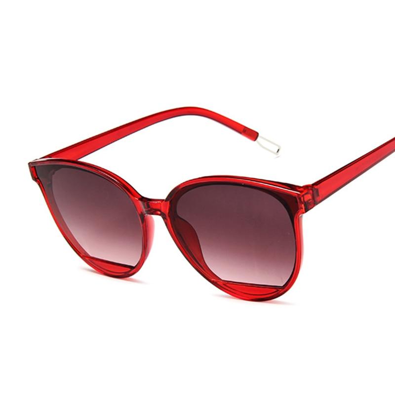 Nuovo arrivo 2020 moda occhiali da sole donna Vintage specchio in metallo classico occhiali da sole Vintage donna Oculos De Sol Feminino UV400 2