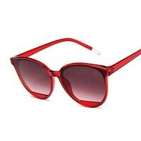 Sunglasses Women Vintage Metal Mirror UV400 1