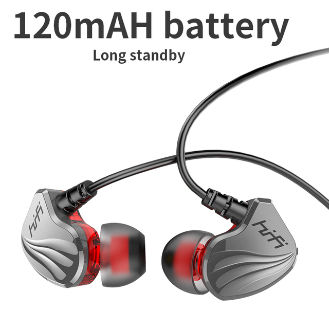 Wireless Bluetooth Earphone Magnetic Suction HiFi Sound Quality Stereo wired bluetooth Waterproof Sports Earbud with HD Mic