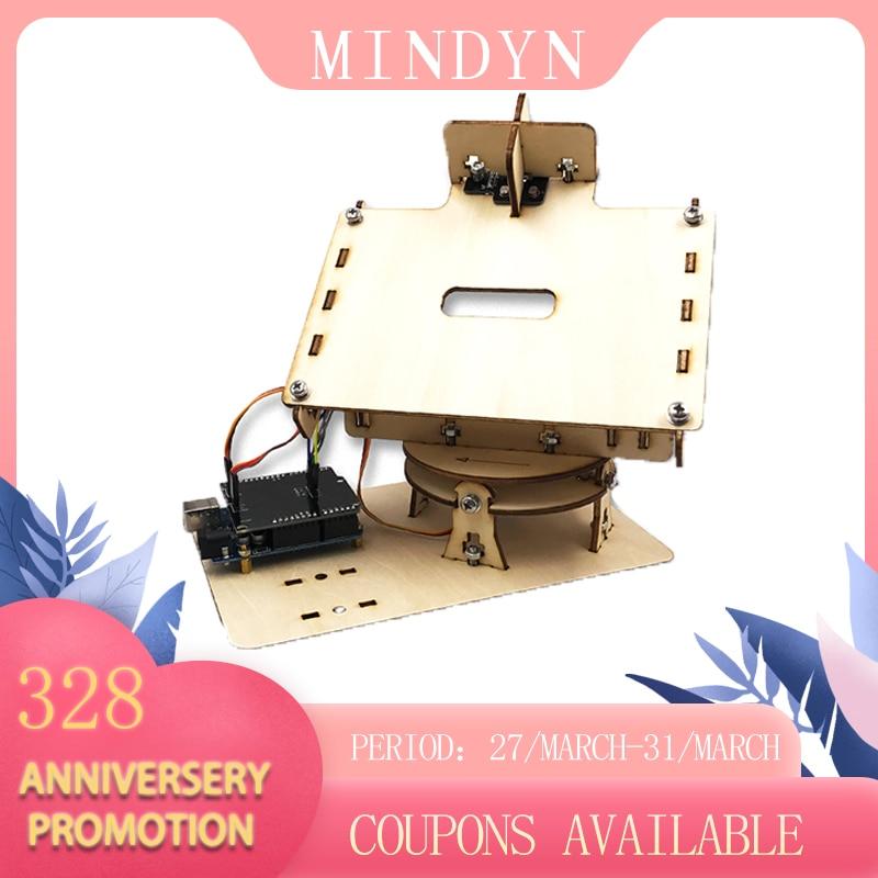 DIY Wooden Handmade Electronic Dual Axis