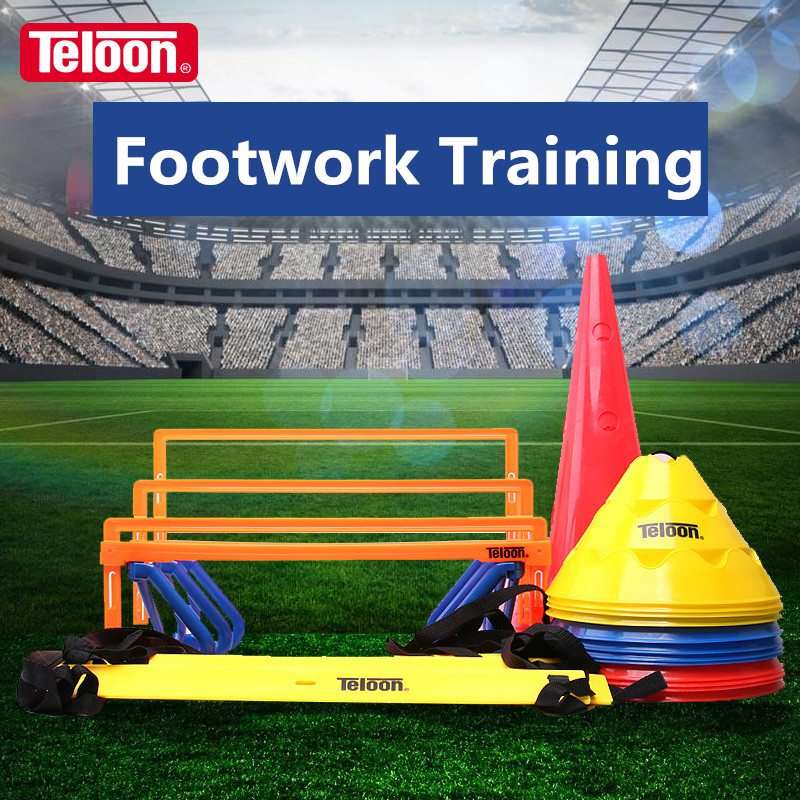 Teloon Footwork Training Products For Tennis Football Basketball Badminton Sports Accessories