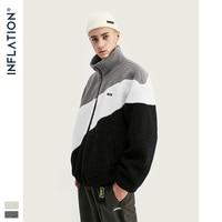 INFLATION Vintage Polar Fleece Men Jacket 2019 Oversize Polar Fleece Men Jacket Winter Warm Coat Polar Fleece Men Jacket 9726W