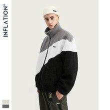 Мужская Флисовая Куртка INFLATION, зимняя теплая куртка большого размера в винтажном стиле, 9726W, 2020