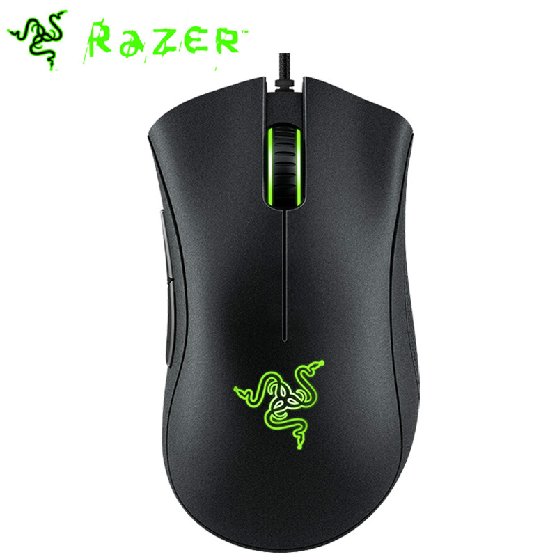 Razer DeathAdder Essential Ergonomic Professional-Grade Gaming Mouse 6400 DPI Optical title=
